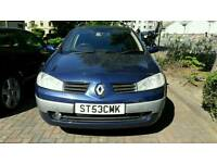 Renault Megane Estate 2003 1.9 DCI spares or repairs