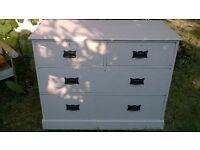 beautiful shabby chic chest of drawers