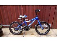 "Boys Bike - Blue Saracon 14"" wheel"