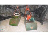 vintage mowers for refurbishment