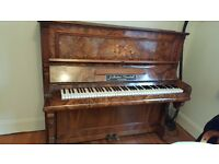 Traditional piano from J. Herbert Marshall, Leicester. Good working condition - beautiful woodwor