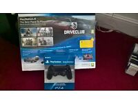 PLAY STATION 4. BOXED ,AS NEW.