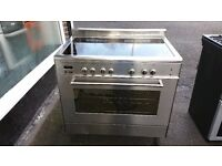 DELONGHI ESS903 ELECTRIC RANGE COOKER IN GOOD CONDITION & WORKING ORDER