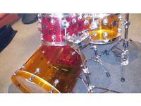 Natal Acrylic Jelly Bean Drum Kit