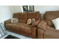 3 seater and single chair