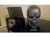 Terminator Salvation Blu ray Limited edition T600 Skull