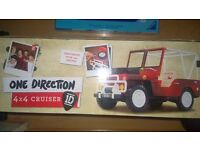 Brand new in box- ONE DIRECTION 4 X 4 CRUISER ,JEEP, CAR 1D