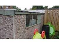 FREE Concrete sectional garage 6.5m X 3.5m FREE if dismantled and taken away.