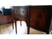 Antique victorian mahogany sideboard cabinet. Perfect condition. Perfect condition. Heavy.