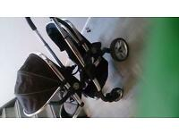 icandy peach blossom 2 tandem pushchair