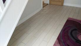 New boxed porcelain floor tiles