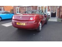 2007 Renault Megane convertible diesel automatic 1.9 dci