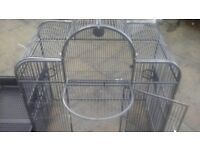 LARGE PARROT CAGE, BIRD CAGE, INDOOR BIRD CAGE