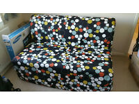 IKEA LYCKSELE Two Seat Sofa Bed in very good condition