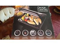 GEORGE FOREMAN 3XTIME FAST FAT REDUCING GRILL.