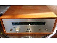 RARE Vintage British Rogers Ravensbrook FET FM Tuner - VGC