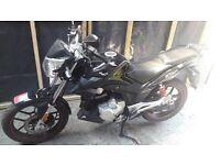 Lexmoto ZSX 125cc in Black - Pre-reg Motorcycle with 2 yr warranty