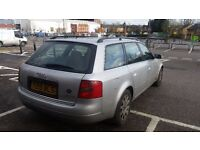 Audi a6 estate 1.9 diesel tax and mot in very good condition .