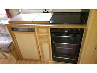 Caravan kitchen unit