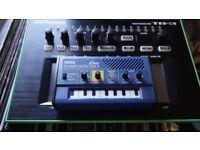 Roland TB-3 + Free Korg Monotron Duo Analog Ribbon Synthesizer