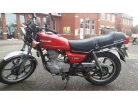 Kawasaki Z250 c2 Classic Motorbike Red 250cc