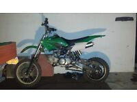 125 PIT BIKE acuma assassin/ drit bike/