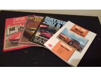 JOB LOT OF BOOKS ON THE DATSUN/NISSAN 'Z' CARS