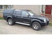 Mitsubishi L200 . Leather interior. Full MOT. Turbo just gone hence price.