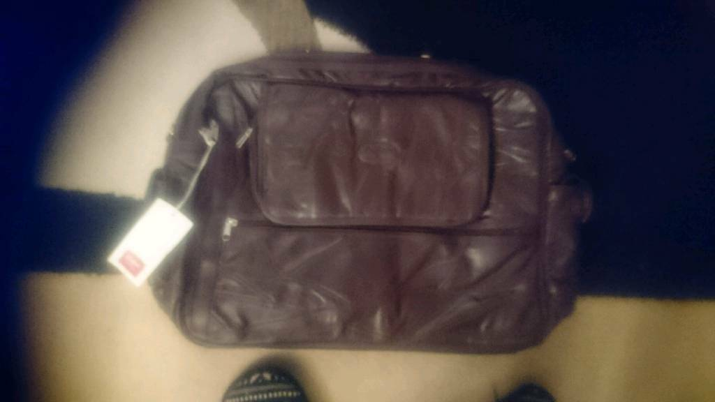 Leather Travel bag new