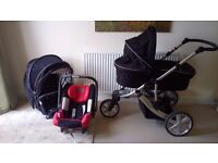 Britax B-Smart - Complete Baby Travel System