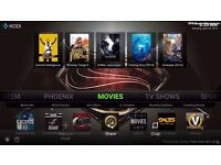Kodi Android TV box fully loaded boxes - Freem & Unlimited sky sports / movies / boxsets streaming