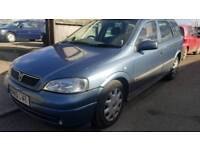 VAUXHALL ASTRA LX 1.4 PETROL WITH MOT