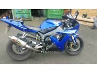 Yamaha R1 2004 plate immaculate condition