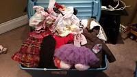 Huge lot of girls clothing