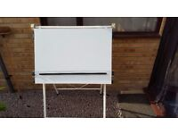 A1 CHAMPION ARCHITECTS DRAWING BOARD, WHITE, ADJUSTABLE,