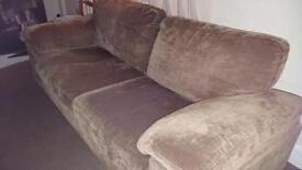 Three and Two Seater Sofa set