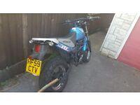 Hyosung rt 125 karion motorbike