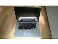 """Apple MacBook Pro 15.4""""   8GB RAM   i7 (2.2Ghz)   500GB HDD   Early 2011"""