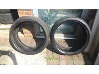 2 Nankang tyres 205/35/18