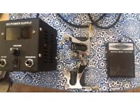 Tattoo machine x2 power supply and footswitch