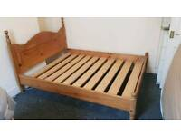 Pine King-Size Bed