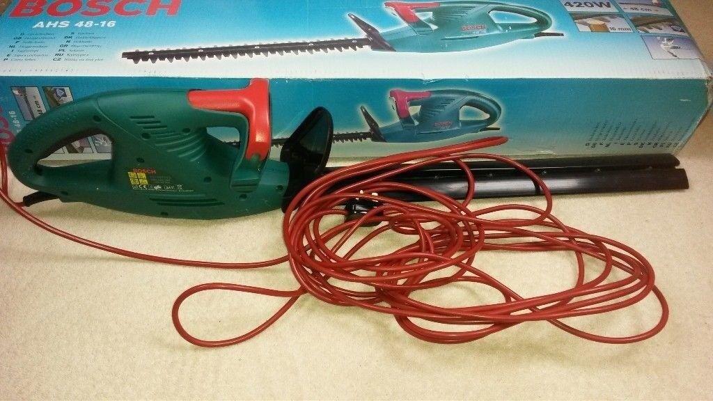 lightweight electric hedge trimmer - BOSCH AHS48-16
