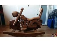 Rocking motorbike