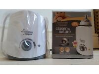New Tommee Tippee Closer to Nature Baby Food or Bottle Electric Warmer