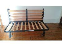 Two-seat sofa-bed Ikea LYCKSELE LÖVÅS frame