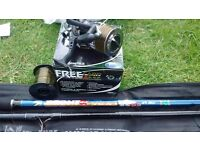 Carp/Sea Fishing Rod and Tackle Box with a view bits