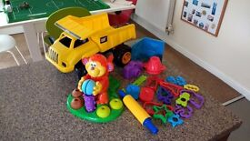 Play Doh Modelling Monkey and Tools. Plus DumperTruck