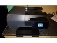 HP OfficeJet Pro 6830 All-in-One Inkjet Printer - WiFi print scan copy fax web