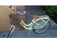 Dutch style Bike with Basket, used once!