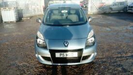 2010 plate Renault Scenic for sale. Great family sized car.